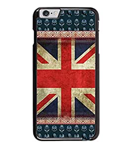 PrintDhaba UK Flag D-3063 Back Case Cover for APPLE IPHONE 6 (Multi-Coloured)