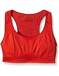 FALKE soutien-gorge de sport pour femme low support brassière madison, rouge, s, 38462