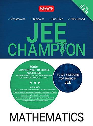 Mathematics Champion for JEE