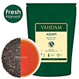 VAHDAM Tè Assam in foglie (200+ tazze), forte e maltato, tè nero estivo Second Flush, certificato al 100% come puro e non miscelato, direttamente dall'India, 454g