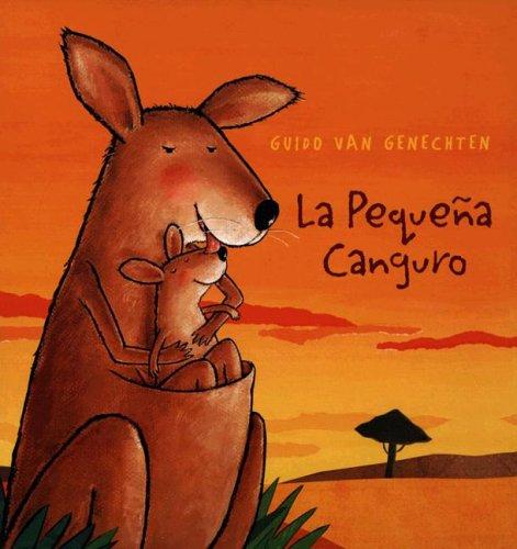 La Pequena Canguro por Guido Van Genechten