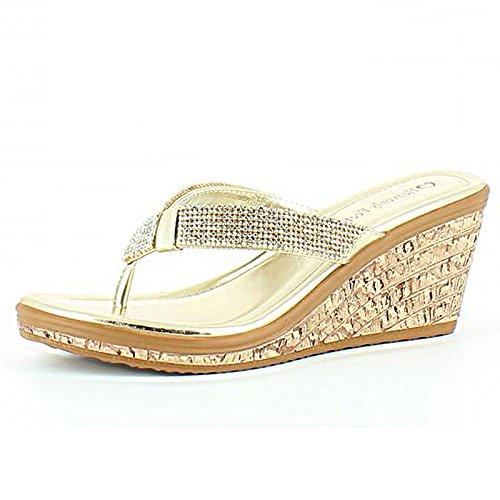 Heavenly Feet, Sandali donna Gold