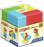 GEOMAG Magicube 1+ Full Color 148 - Cubi Magnetici per Bambini - Monocolore - Confezione da 24 Cubi