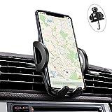 iAmotus Supporto Auto Universale Supporto Smartphone 360 Gradi di Rotazione [2020 Nuovo] Porta Cellulare Auto Regolabile per iPhone XS Max XR X 8 7 6 Plus, Samsung, Huawei, Xiaomi e GPS Dispositivi
