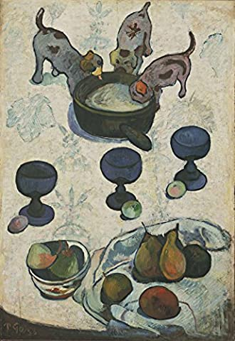 Paul Gauguin - Still Life with Three Puppies - Large