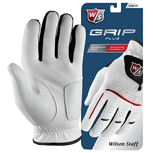 Wilson Staff Men's Golf Glove, Cabretta Leather
