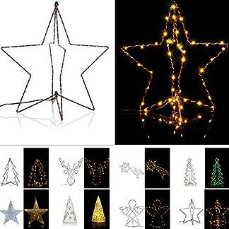 LED-Weihnachtsdekoration-beleuchtete-Figuren-Lichterkette-Weihnachten-Indoor-Outdoor