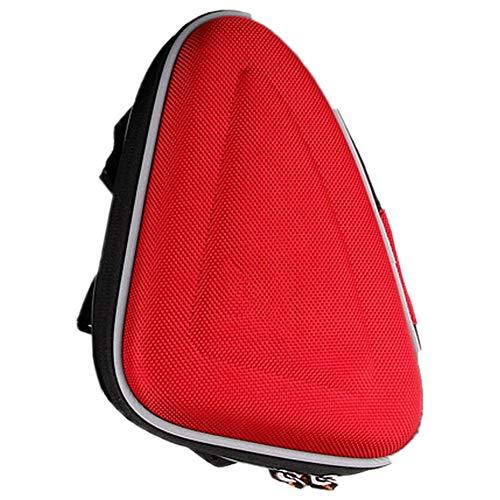 Minions Boutique sport bici bag Storage Bag Front Frame Head pipe Triangle bag biciclette strumenti di riparazione tasca, red