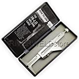 Garantie 2ans pour jauge de soudure en acier inoxydable et métriques pour mesure de tuyau après Aménagement/alignement Aménagement Gap 32mm 371/2en [Abbott]