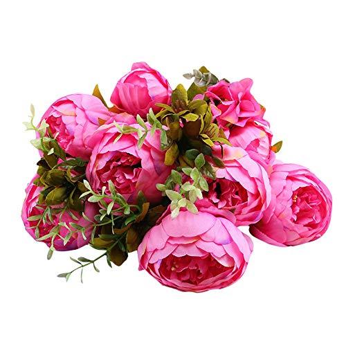 Kunstblumen Künstliche Blumen Blumenstrauß Hochzeit Home Deko Geschenk -