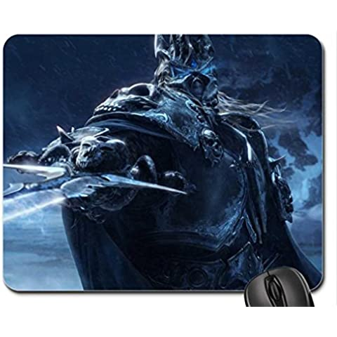 World of Warcraft: Wrath of the Lich King Mouse Pad, Mousepad (10.2 x 8.3 x (World Of Warcraft Mouse Pad)