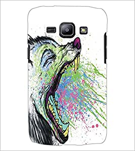SAMSUNG GALAXY J1 WOLF Designer Back Cover Case By PRINTSWAG