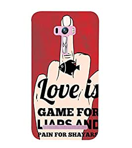 ifasho Designer Back Case Cover for Asus Zenfone Selfie ZD551KL (Amour Internet Dating)
