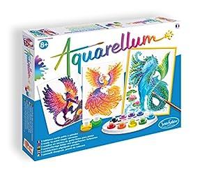Sentosphere- Aquarellum Animales místicos, Color Unisex (6390)