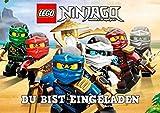 Lego Ninjago Einladungskarten 12er Set inkl. 12 Umschläge TE1