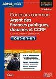 concours commun agent des finances publiques douanes et ccrf tout en un externe interne cat?gorie c concours 2014 2015