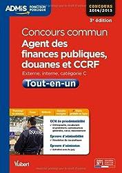 Concours commun, Agent des finances publiques, douanes et CCRF - Tout-en-un - Externe, interne - Catégorie C - Concours 2014-2015