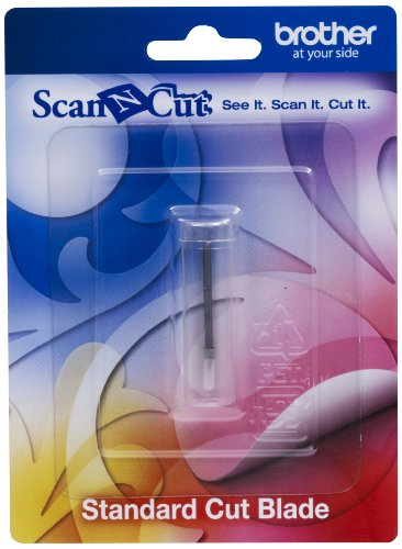 Brother Scan-N-Cut CABLDP1 Standard Cut Blade Silver Test