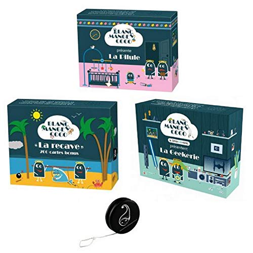 Lot de 3 Extensions Blanc Manger Coco: La Pilule + La Recave + La Geekerie+ 1 Yoyo Blumie
