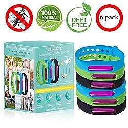 CIDBEST Mückenschutz Armband Anti Mosquito Bracelet Anti Mücken Repellent Armband 16 Stück Insektenschutz-Armband Natürliches Pflanzenöl Wasserdichtes Armband mit Mückenschutz für Kinder Erwachsene