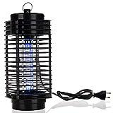 Monzana Insektenvernichter Insektenfalle Elektronisch 25m² Mückenvernichter Elektrisch Insektenlampe Insektenschutz UV-Licht 2 Reinigungspinsel