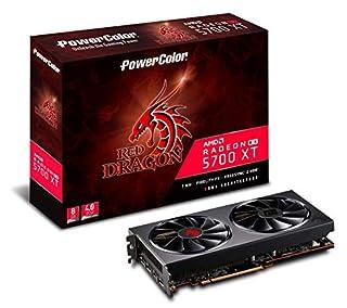 PowerColor AMD Radeon RX 5700 XT Red Dragon 8GB GDDR6 (B07WNYZJ7Y) | Amazon price tracker / tracking, Amazon price history charts, Amazon price watches, Amazon price drop alerts