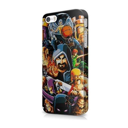 Générique Appel Téléphone coque pour iPhone 5 5s SE/3D Coque/COWBOY BEBOP/Uniquement pour iPhone 5 5s SE Coque/GODSGGH705584 CLASH OF CLANS GAME - 027