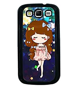 Fuson Premium 2D Back Case Cover Cute baby With black Background Degined For Samsung Galaxy S3 Neo::Samsung Galaxy S3 Neo i9300i