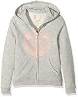 Roxy Sea Owls Riding on Girl's Sweatshirt Heritage Heather Size: 12 years (Manufacturer Size: 12/L)