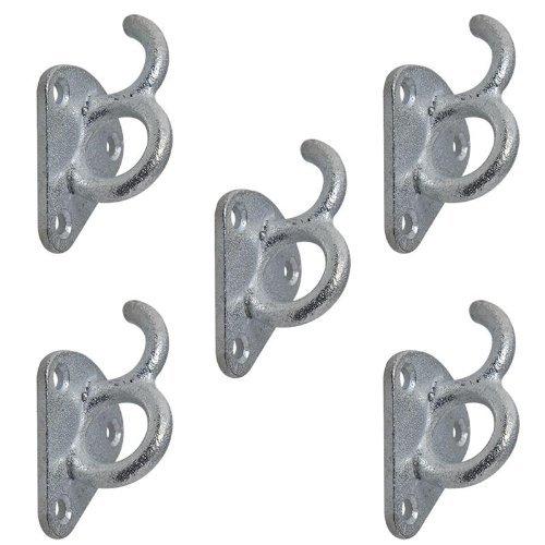 ProPlus 342157S Planenhaken Metall mit Öse 70×45 mm 5…   08718546652677