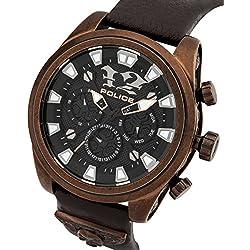 Police Herren-Armbanduhr Analog Quarz P14473JSQBZ-02