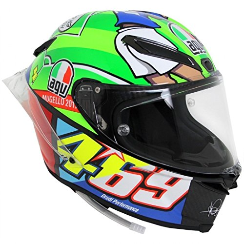CASCO INTEGRALE AGV PISTA GP R LIMITED EDITION ROSSI MUGELLO 2017 TG. MS