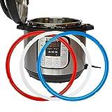 Confezione di 3nuovi anelli di tenuta guarnizione in silicone per Instant pot...