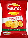 Walkers Tomato Ketchup Crisps 32.5 g (Pack of 32)