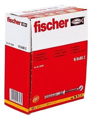 Fischer Nagel-Dübel Fischer N 8 X 80Z 50St von Fischer - Lampenhans.de