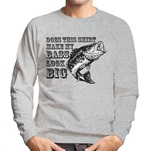 Does This Shirt Make My Bass Look Big Men's Sweatshirt