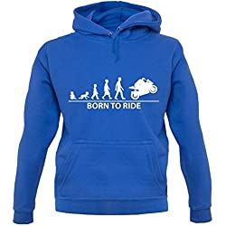 Dressdown Born to Superbike - Unisex Pull - Bleu - L