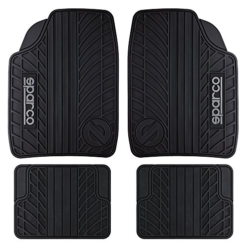Sparco OPC18180001 Set Tappeti Gomma