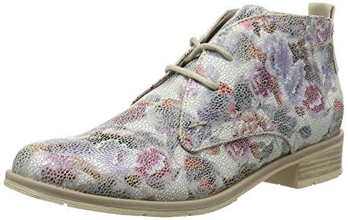 Marco Tozzi Damen 25118 Chukka Boots, Weiß (Wht Flower com 162), 40 EU (Chukka Sportliche Damen)