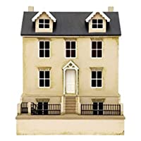 Melody Jane 1:24 Scale Dolls House Willow Cottage & Basement Kit MDF Flat Pack