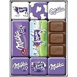 Nostalgic-Art 83004 Traditionsmarken - Milka, Magnet-Set (9teilig)