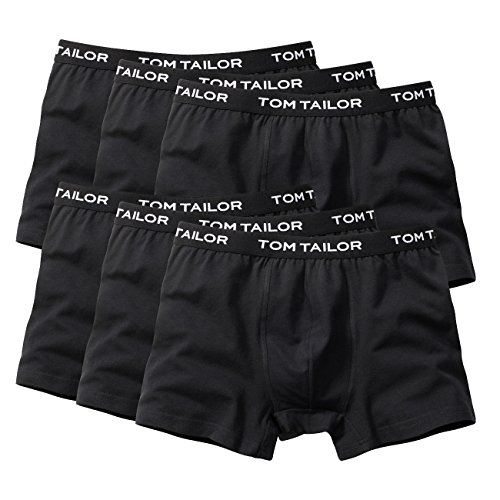 Tom Tailor Long Pants 6er Pack black M -
