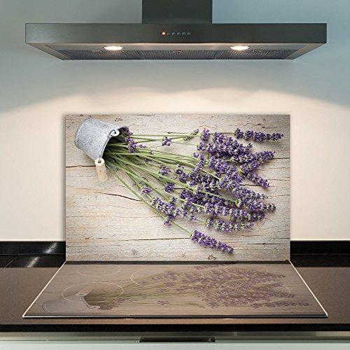 Glas-Herdabdeckplatte Ceranfeldabdeckung Spritzschutz 80x52 Obst und Gemüse