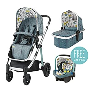 Cosatto wow Travel system with Port in Fjord   2
