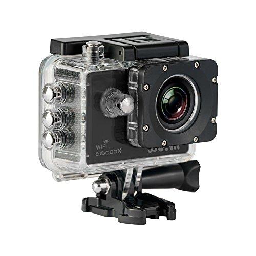 SJCam SJ5000X Elite (versión española) - Videocámara deportiva (WiFi integrado, 4K, pantalla...