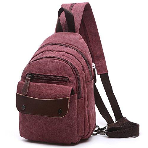 Imagen de outreo  escolares mujer bolsos de viaje vintage backpack casual bag pequeña bolsos de tela para colegio escuela alternativa
