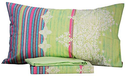Completo letto singolo una 1 piazza lenzuola bassetti dream 100% cotone sotto + sopra + 1 federa (carpet col 2)