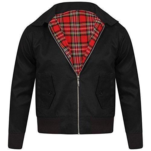 Vintage Harrington Von Wholesale Workwear - Erwachsene Harrington Jacke Britisch Mantel Klassisch 1970er Jahre Retro Scooter Kariertes...