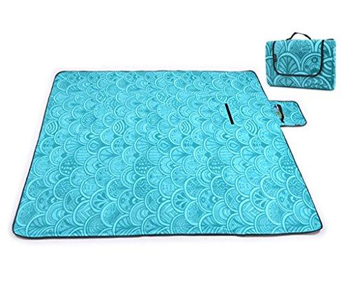 Coperta da pic-nic, skysper base impermeabile tappetino da campeggio portatile spiaggia coperta vari colori e modelli