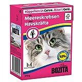 Bozita Cat mit Meereskrebsen 370g Katzen-Nassfutter Häppchen in Gelee
